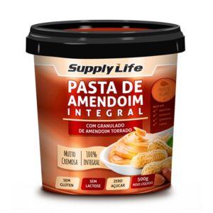 pasta-amendoim-integral-com-granulado-amedoim-torrado-supplylife