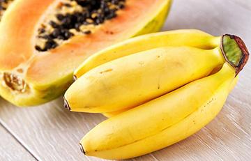 Receita de Banana e Mamão para Alisar Cabelo