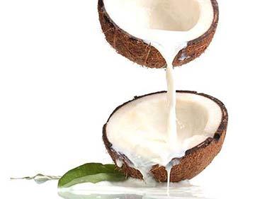 Tratamento Queda de Cabelo com Leite de Coco Natural