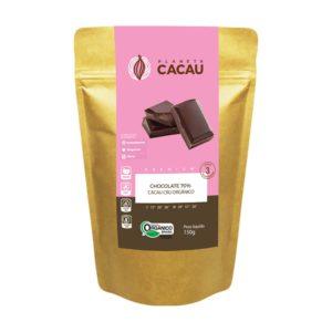 Chocolate 70% Cacau Cru Orgânico e Premium 150g - Planeta Cacau