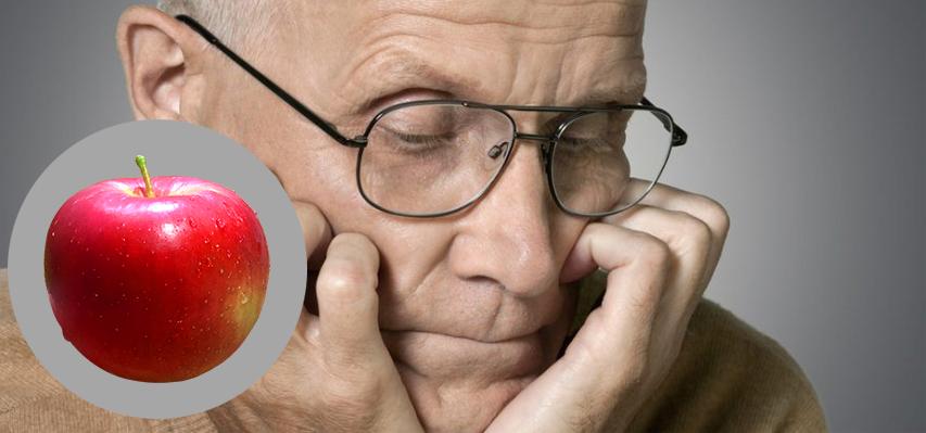 Doença de Alzheimer e a maçã
