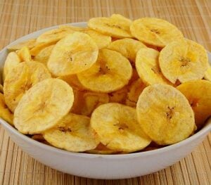 Banana chis esta na lista de produtos naturais mais vendidos