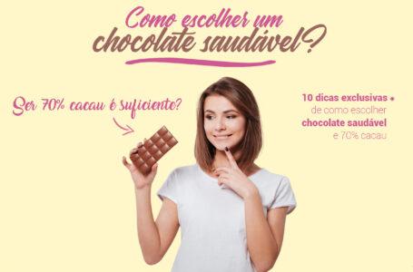 Como escolher chocolate saudável? Ser amargo ou ter 70% cacau é suficiente?