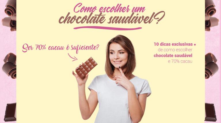 Como escolher chocolate saudável?