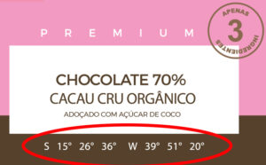 Localização geográfica chocolate orgânico e fino