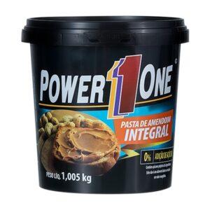Pasta de Amendoim Integral 1kg - Power One - Uma das melhores pasta de amendoim