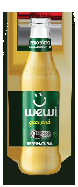 Refrigerante orgânico e natural zero açucar - Wewi