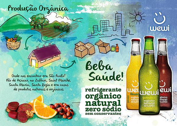 Refrigerantes mais Saudáveis, Naturais, Orgânicos