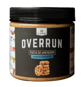 Pasta de Amendoim Cookies 500g - Overrun