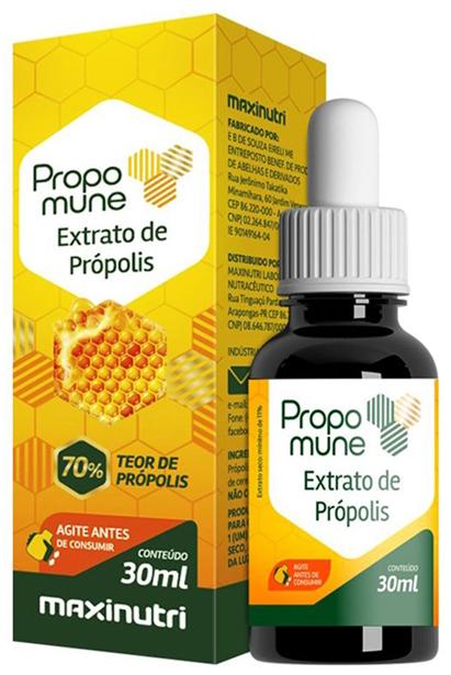 Comprar Propomune 30ml - Extrato concentrado de Própolis 70% - (Extrato Seco 11%) - Maxinutri