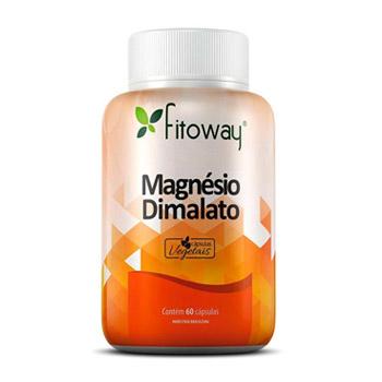Magnésio Dimalato Vegetal 60 Cápsulas - Fitoway