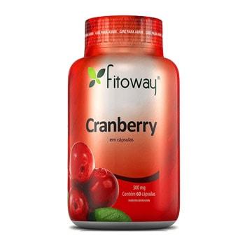 Cranberry 60 Cápsulas 500mg - Fitoway