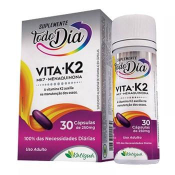 Vita K2 30 Cápsulas - Todo Dia - Katiguá