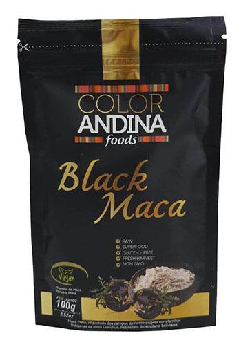 Maca Peruana Black Preta em Pó - Color Andina