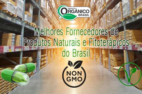 Melhores Fornecedores de Produtos Naturais e Fitoterápicos do Brasil