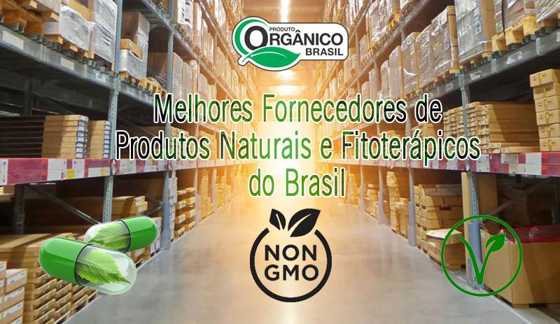 Melhores Fornecedores ou Distribuidores de Produtos Naturais do Brasil