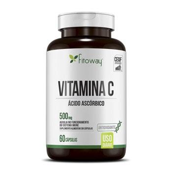 Vitamina C 60 Cápsulas 500mg - Fitoway